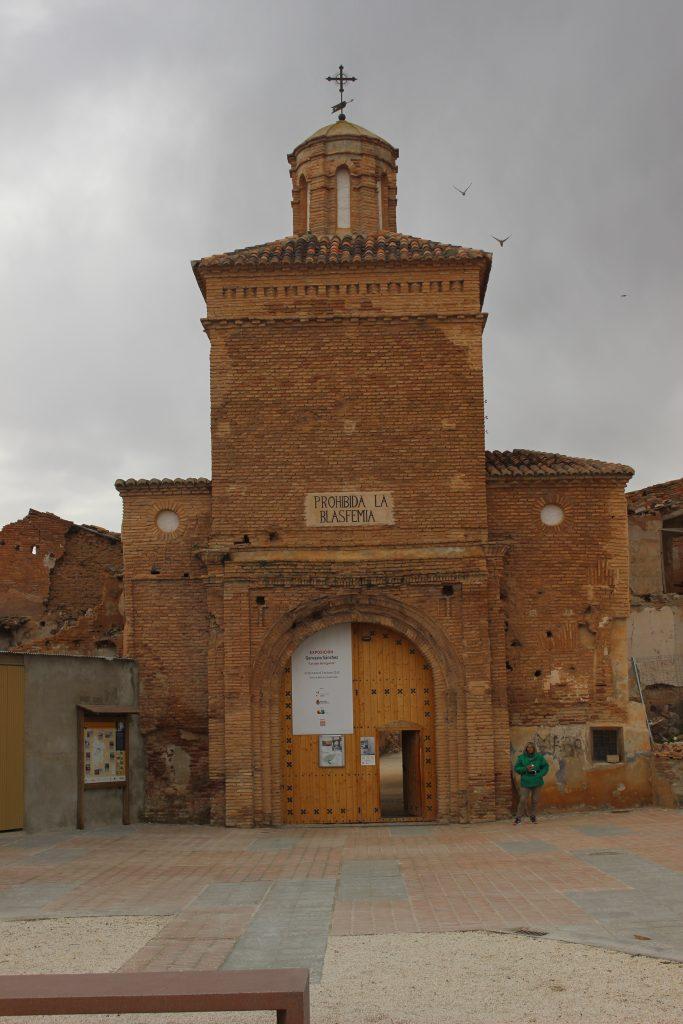 Puerta de Acceso a Belchite Viejo
