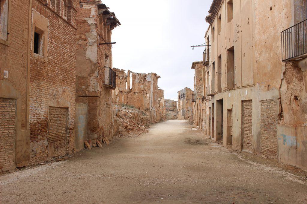 Calles de Belchite Viejo