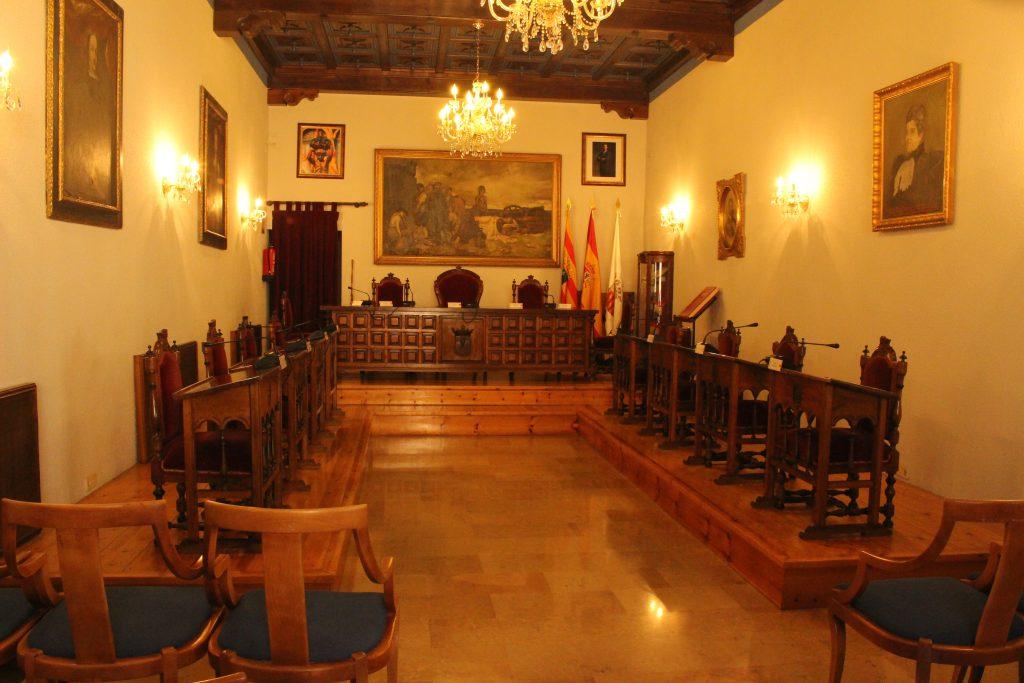 Ayuntamiento Cariñena por dentro
