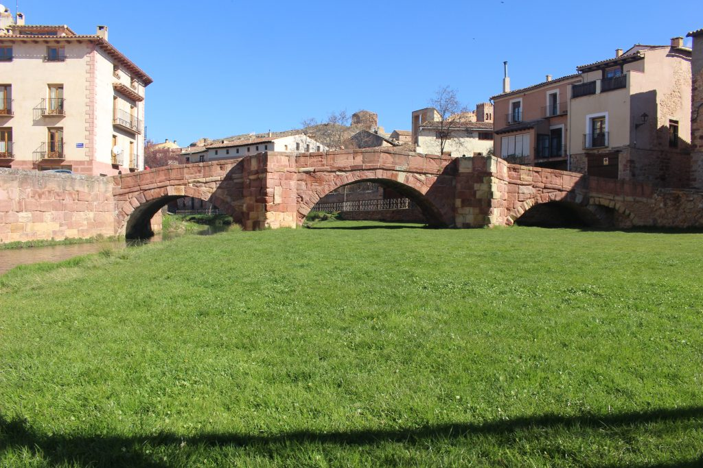 Puente Romano de Molina de Aragón