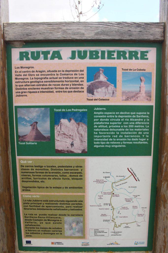 Cartel Ruta Jubierre