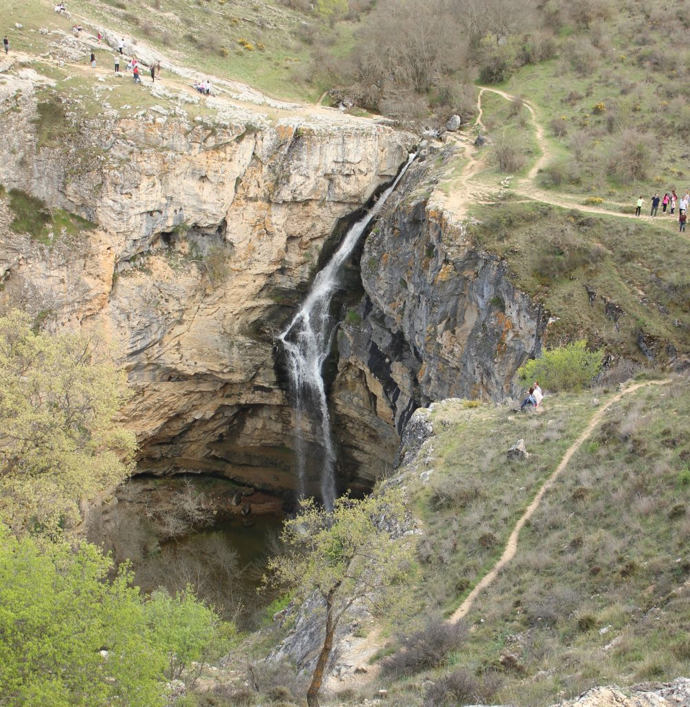 Cascada Barranco del Río Dulce