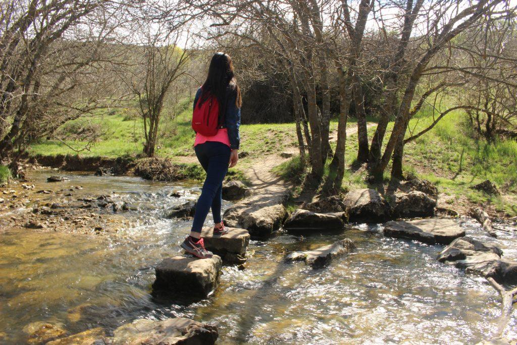 Senderismo en el Barranco del Río Dulce Guadalajara