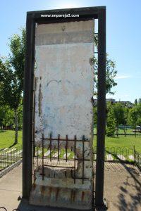 Fragmento del Muro de Berlín